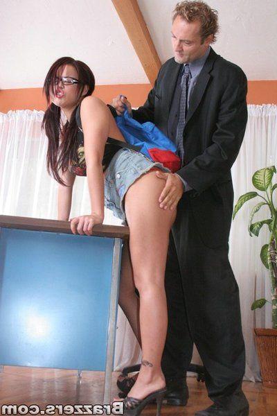 Latina schoolgirl in glasses Eva Angelina got her sweet pussy fucked