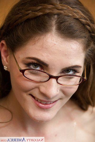 Hardcore brunette Molly Jane was fucked hard alongside her exact facet
