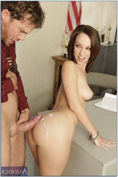 University slut Jada Stevens fucks and receives cum unaffected by her big ass