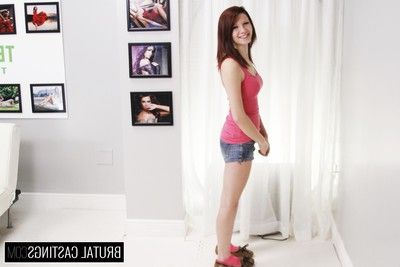 Macy monroe, a small town cutie, wants in the air move in the air miami for a modeling career! s