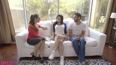 Cassidy klein visits megan sage and damon dice to discuss the de