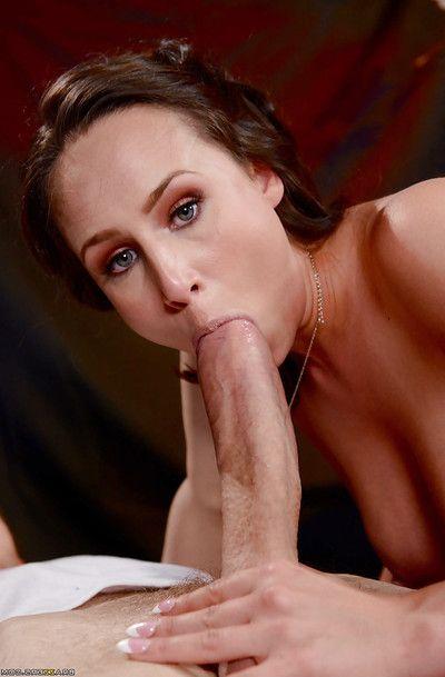 Big-busted Euro schoolgirl Anastasia Hart taking hardcore screwing from fat cock