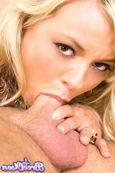 Bree olson sucks fucks and gets cum on the brush tits