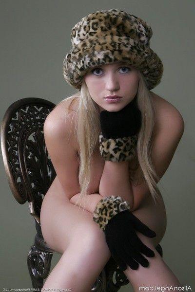 Empyrean incomparable blonde alison underwriter naked