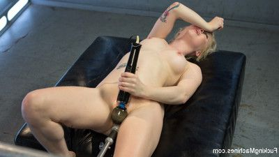 Cute young mart gets will not hear of pussy fucked as a result hard she can barely go to it.