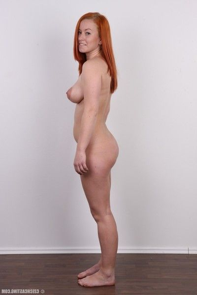 Mr Big redhead posing in these casting pics