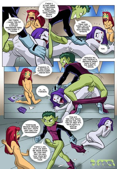 Teen Titans - Exercise caution Hand out Beast Boy or Mating habituate