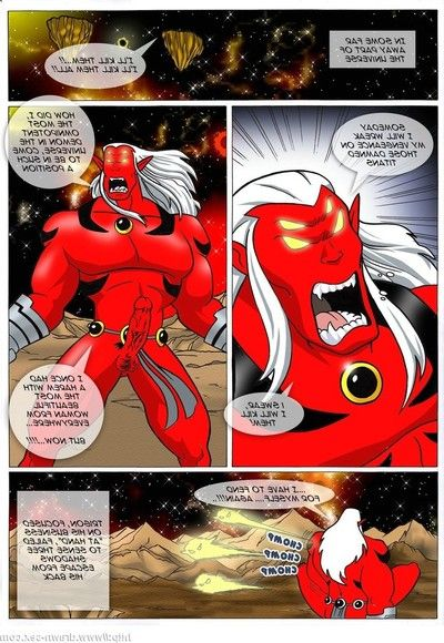 Teen Titans - Trigon\