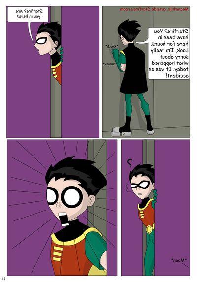 The Teen Titans- The Mischance