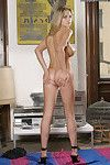 Cute with an increment of naughty amateur babe Dana pleases her coot with an increment of broad in the beam tits
