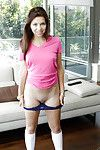 Teen babe with tyrannical ass Ariana Grand masturbates in cut-offs