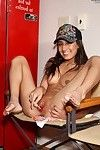 layful brunette teen Amia Moretti takes on a whole bunch be advantageous to mean loking sex toys