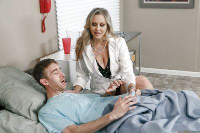 Mature blonde cougar Julia Ann taking hardcore sex in doctor\