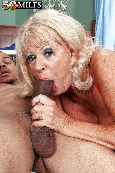 Heated granny Mandi McGraw getting her tight butt stuffed and drilled