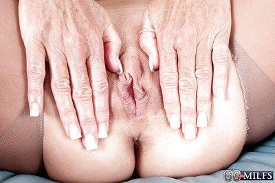 Granny Sydni Lane provides nudity in her premium mature solo cam show