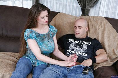 Reality mom June Summers has her mature big tits fucked with a big cock