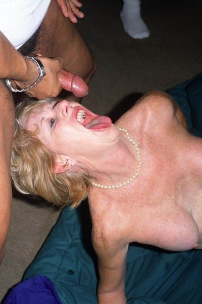 Porn granny getting banged by black guys