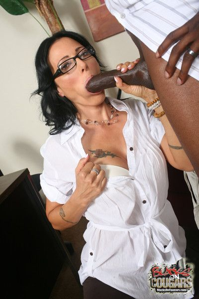 Sexy spectacled zoe holloway facialed after hardcore hammering
