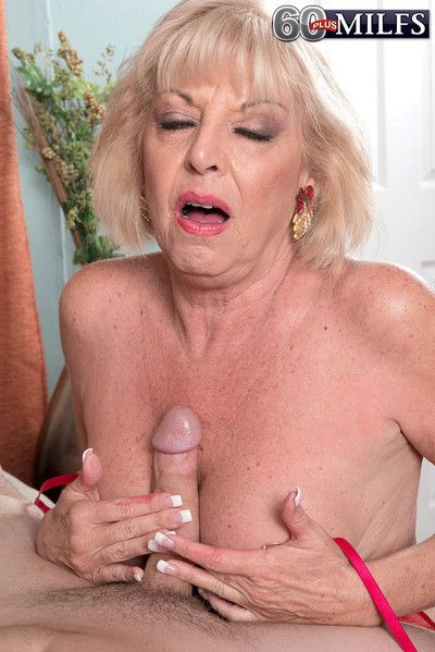 A creampie for grandma scarlet andrews