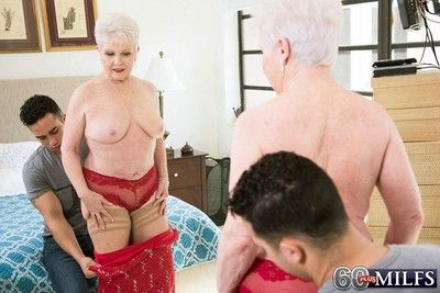 Jewel fucks her granddaughters boyfriend