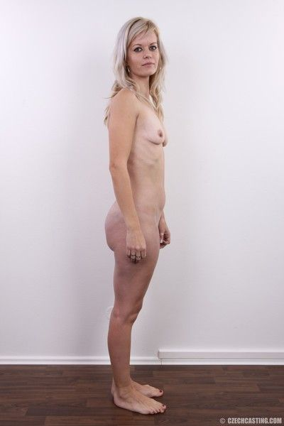Mature amateur wife in casting scene