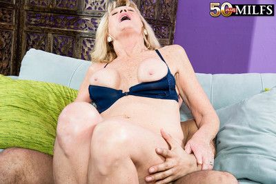 Busty granny kendall rex having a stiff cock for fun
