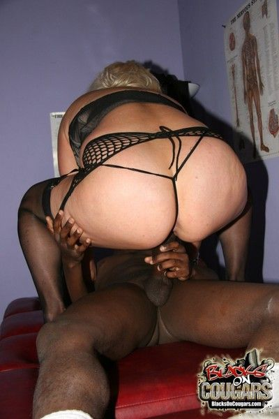 Interracial mature sex