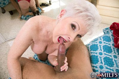 Dirty old whore jewel having a stiff cock to fuck