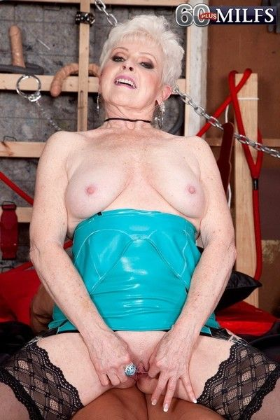 The horniest 65yearold wife and grandmother in mature porn