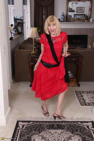 Naughty american housewife getting very horny