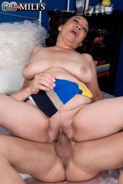 Latina mature maid cheating with younger guy
