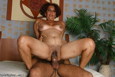 Mature latina granny gets fucked
