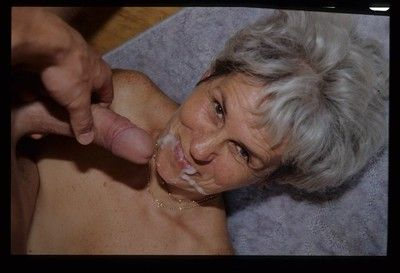 Very old granny fucks an 18 year old boy
