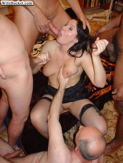 Real amateur wives fucked everywhere