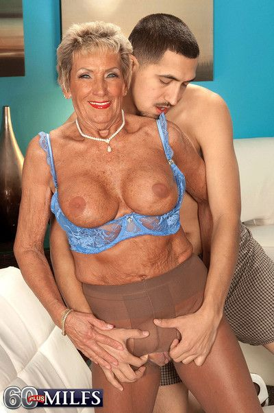 60 old whore sandra ann going hard on huge stiff dick