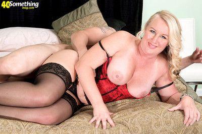 Chubby mature woman jenna bouche riding hard cock