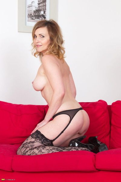 Hot milf playing around