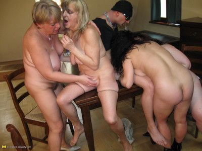 This hot mature sexparty gets wild