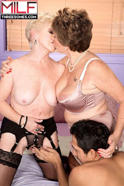 Mature ffm with bea cummins and jewel