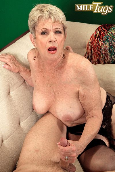 Dirty horny milf lin having cock twice her age