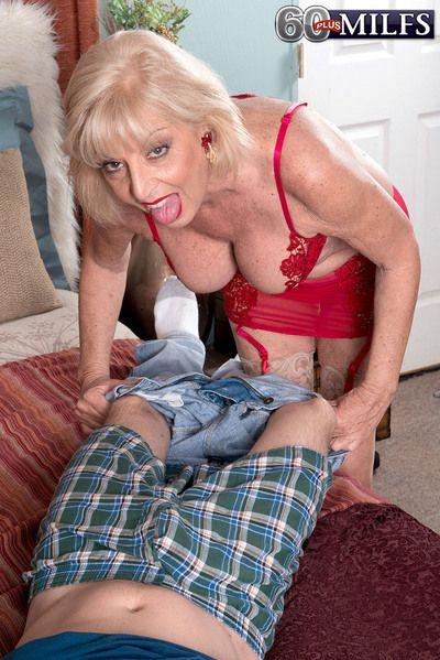 A Creampie For Grandma