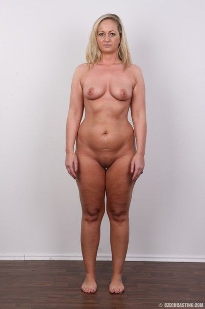 Hot mature blonde with large ass