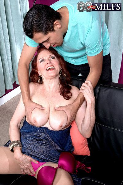 Horny old grandma katherine merlot having a yonger cock to fuck