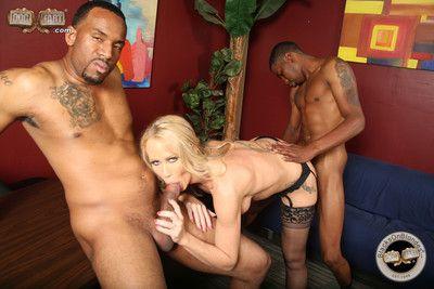 Simone sonay in an interracial threesome