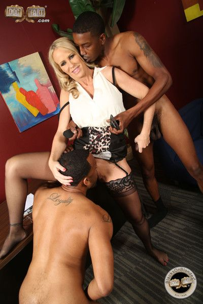 Simone sonay in an interracial threesome