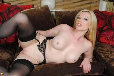 Hot milf getting wet and wild