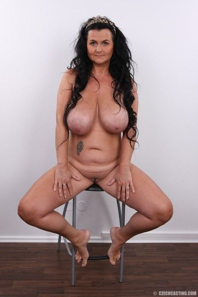 Big titted chubby mature wife