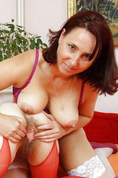 Salacious mature lady has some lesbian fun with lecherous granny