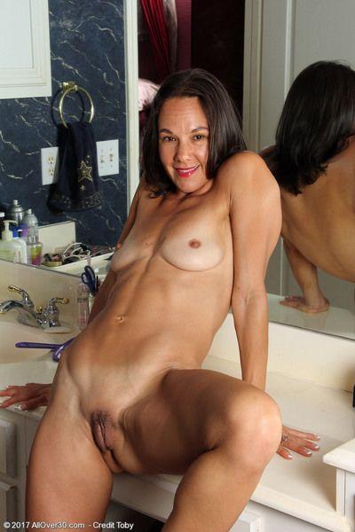 Mindy Johansen in the boudoir