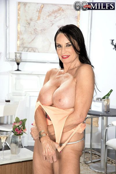 65yearold supermilf and gilf rita daniels masturbating in solo p